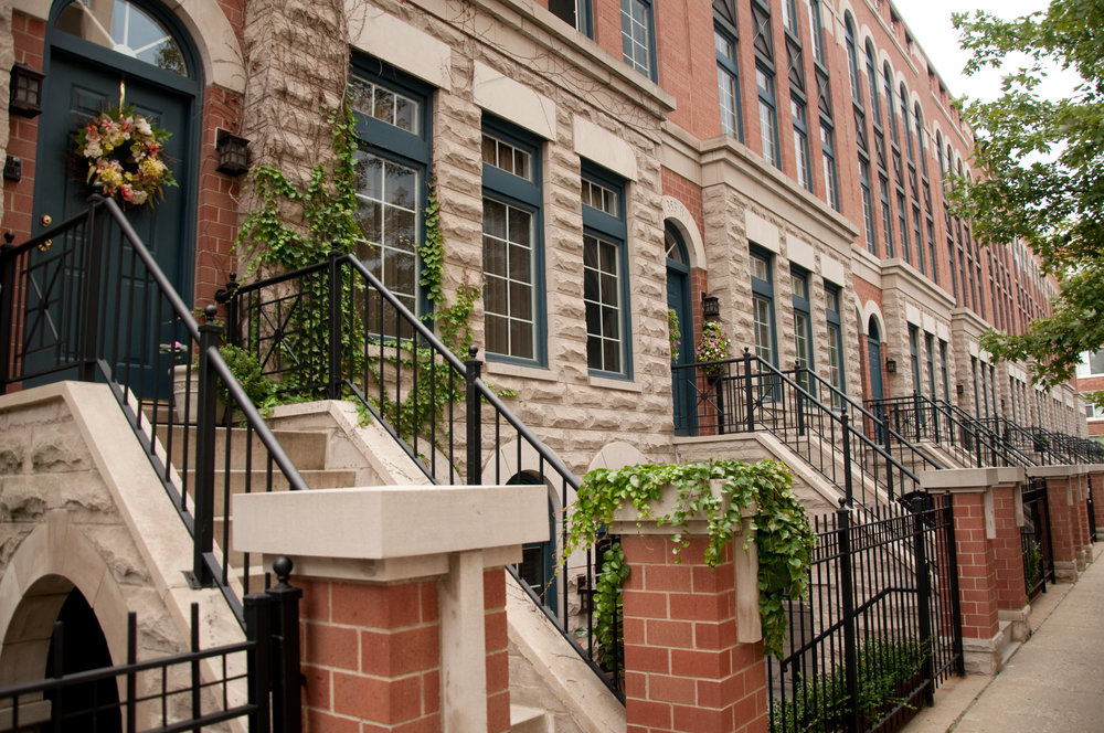 Chicago Gold Coast Townhomes